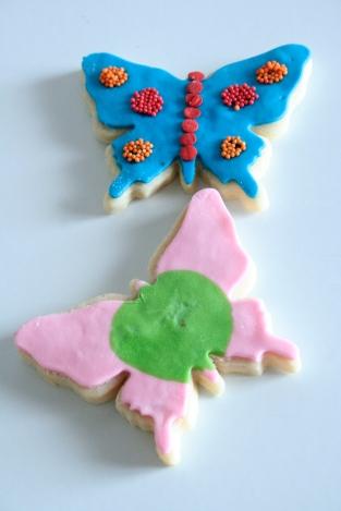 Biscotti farfalle